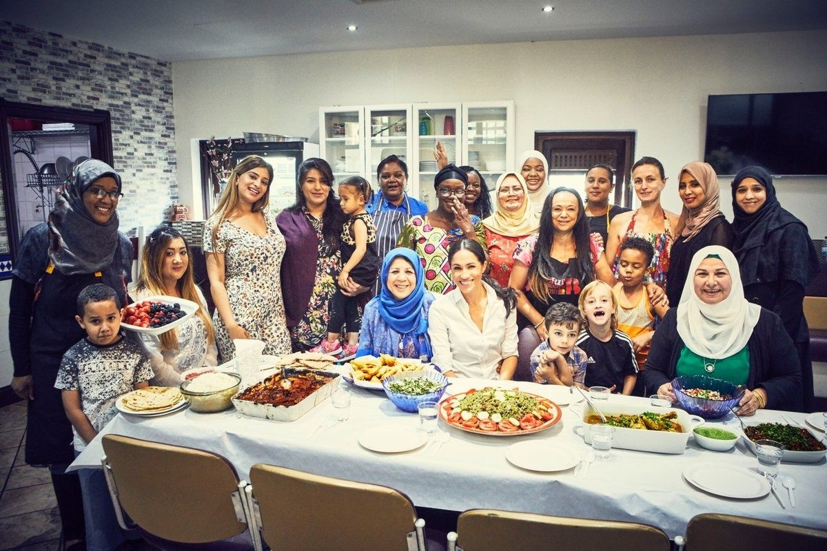 Grenfell Tower Survivors Create Cookbook With Meghan Markle