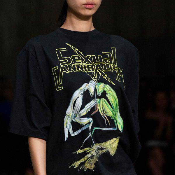 Christopher Kane Explores Sex In Nature