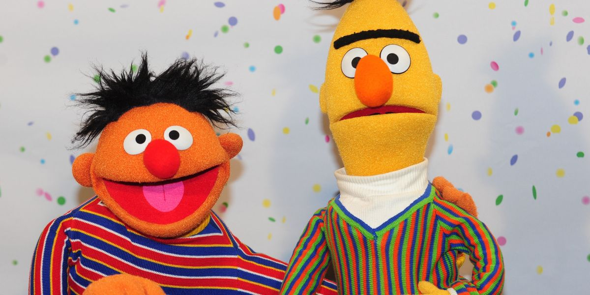 Bert and Ernie Just Came Out!