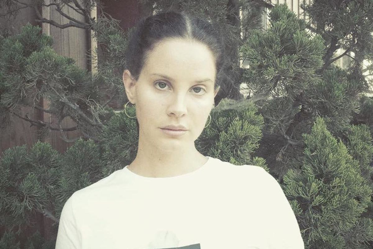 Lana's New Album Is Called 'Norman Fucking Rockwell'