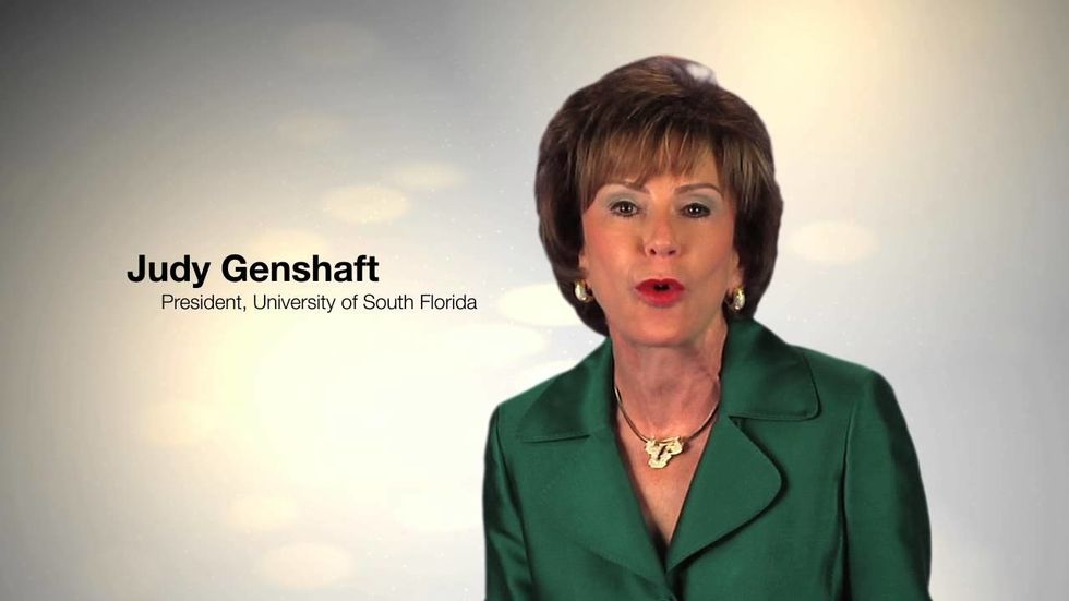 Wait, Judy Genshaft Wasn't the Only USF President?