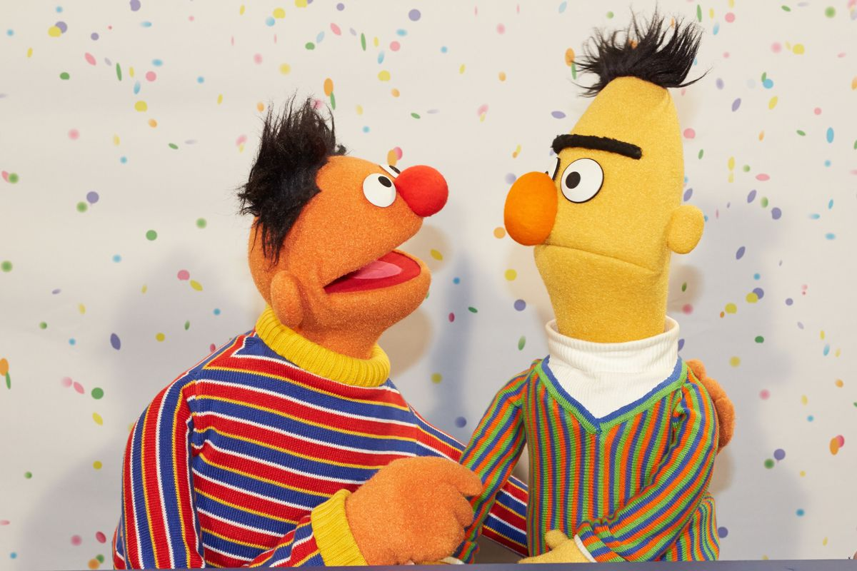 'Sesame Street' Denies Bert And Ernie Are A Couple