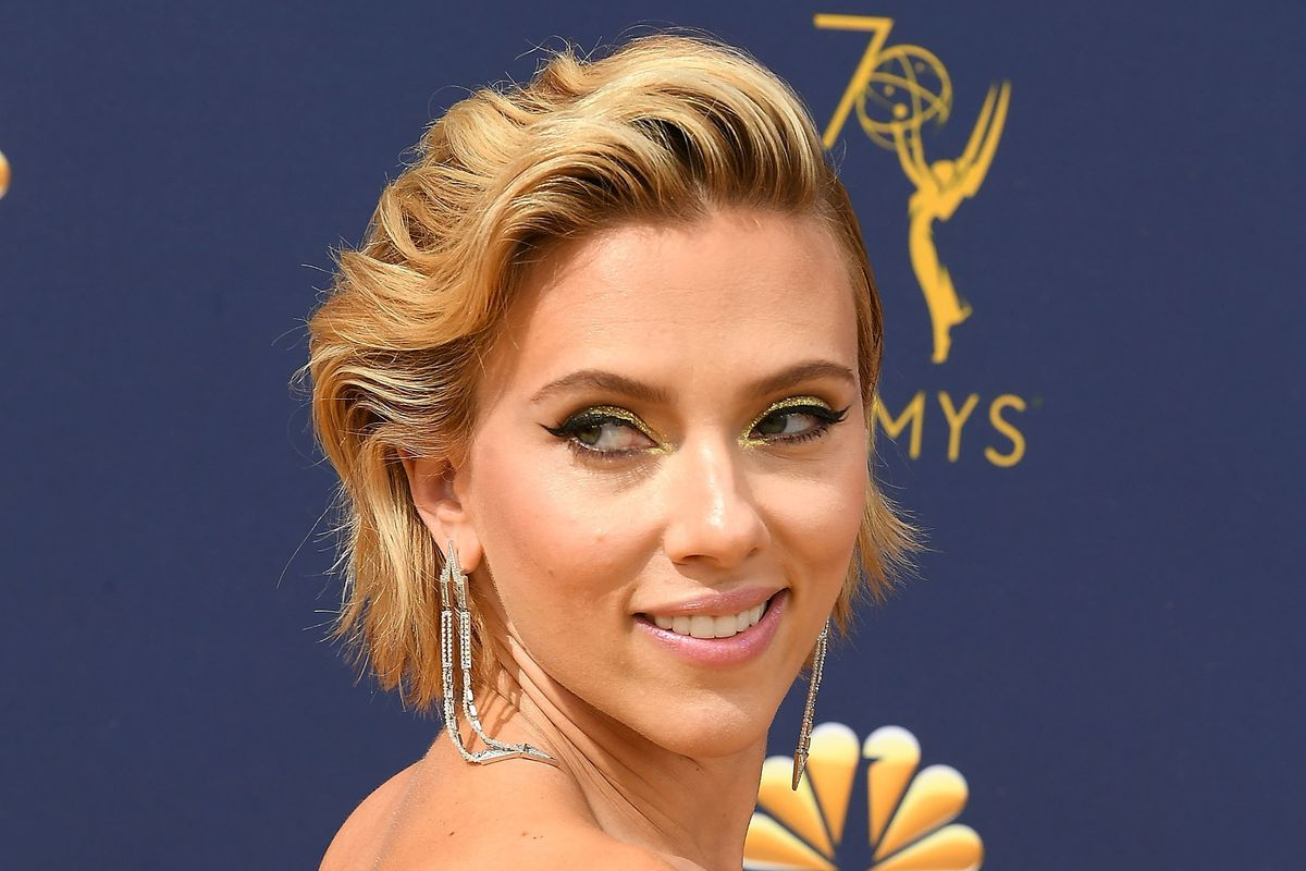 Scarlett Johansson Debuts Giant Back Tattoo at the Emmys