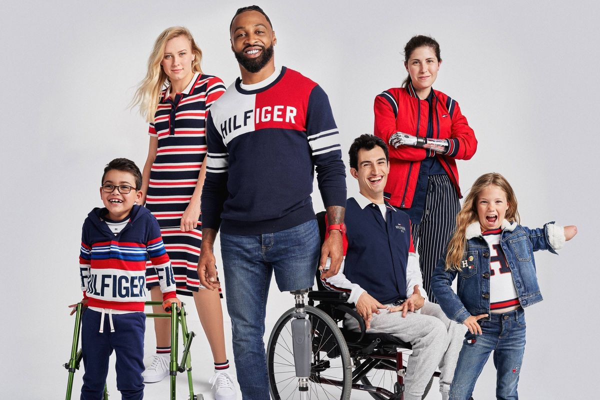 Tommy Hilfiger Designs For Disabilities