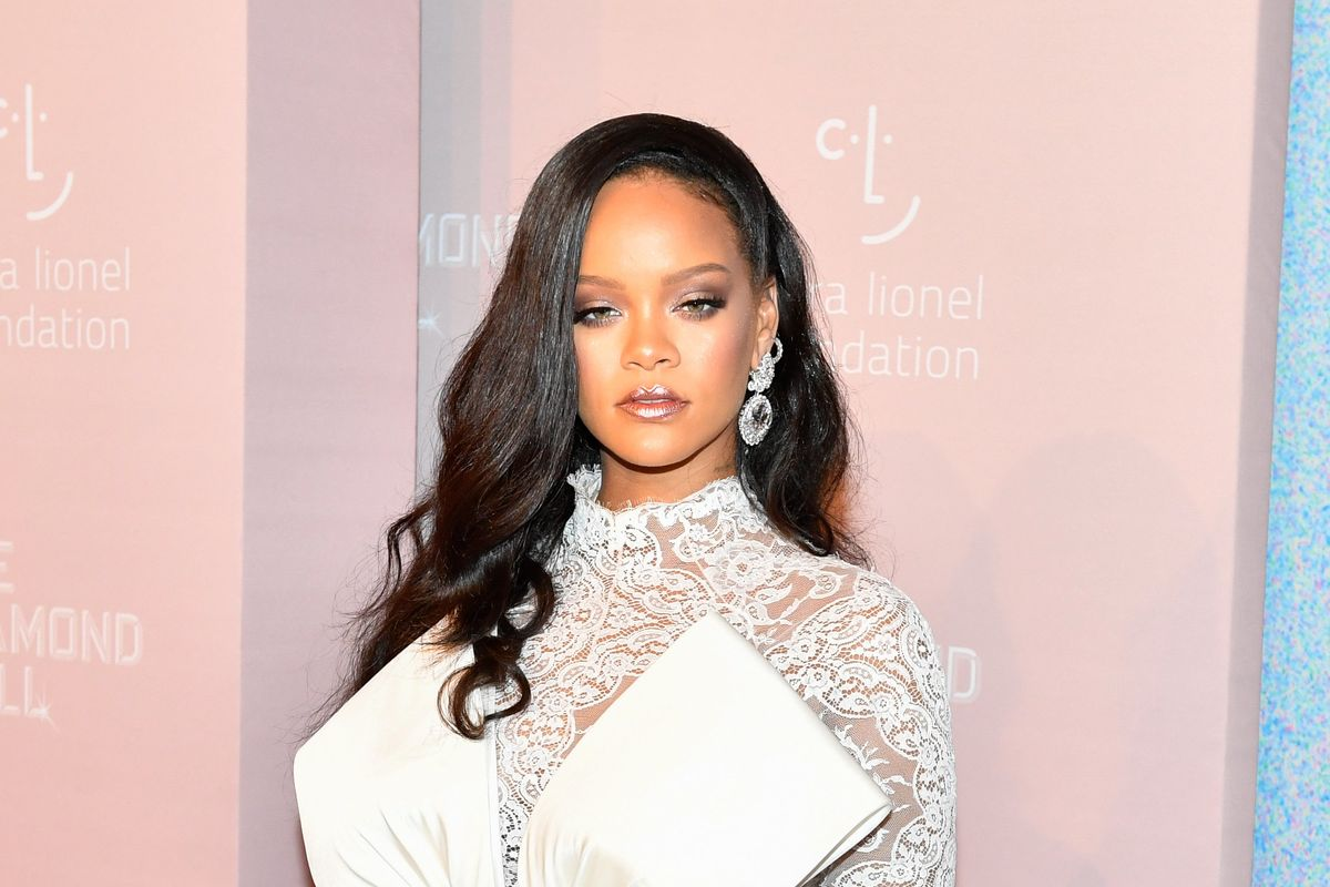 Rihanna Uses Highlighter in Places We'd Never Think to Highlight