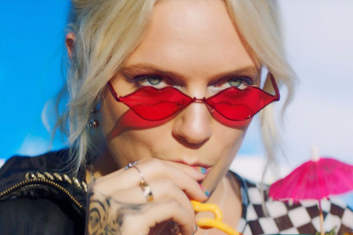 Inside Tove Lo's Psychedelic New Film, All About Female Friendship