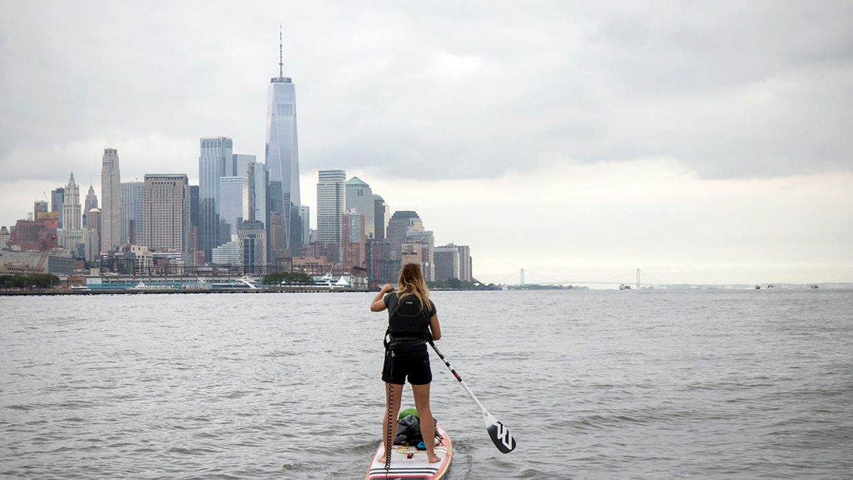 Her Stand-Up Paddleboard Is a Platform for Campaigning Against Plastic Pollution