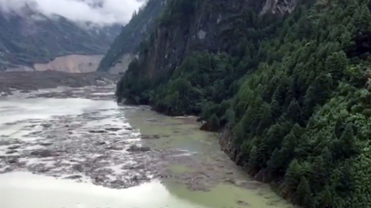 6,000 Evacuated After Tibet Landslide