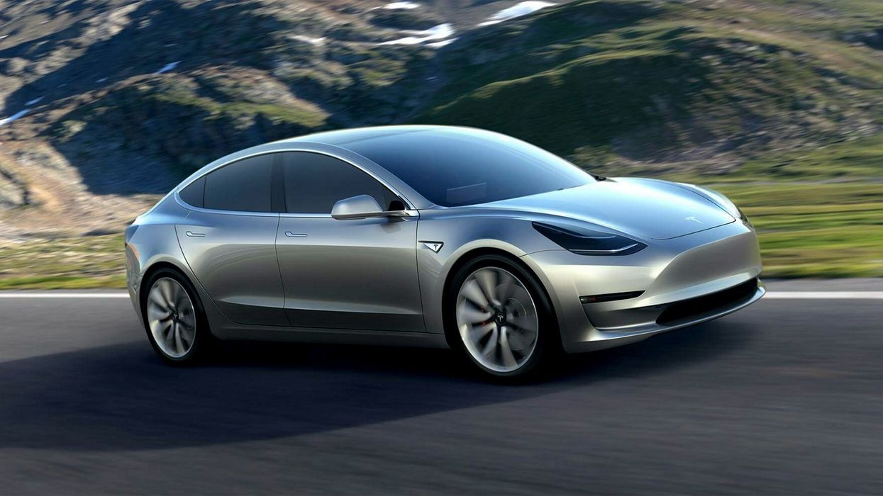 Tesla introduces new Model 3 at $45,000