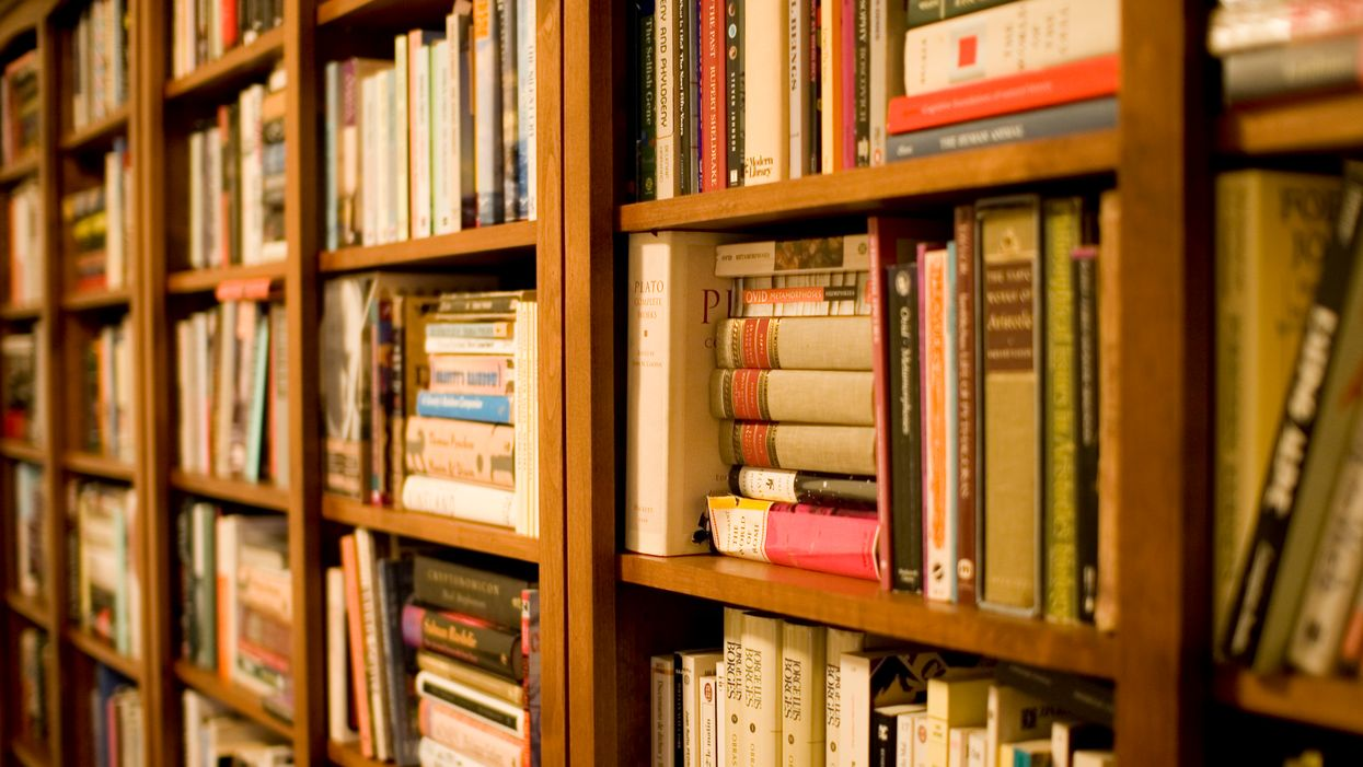 The value of owning more books than you can read