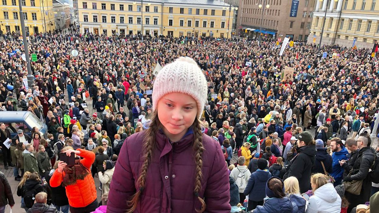 Teen Climate Activist to Crowd of Thousands: 'We Can't Save the World by Playing by the Rules'