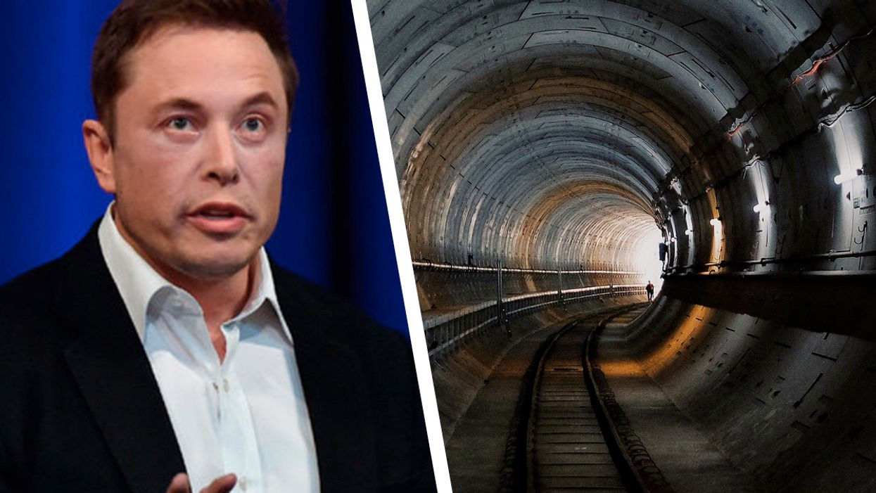 Elon Musk's high-speed test tunnel will give free rides on Dec. 11