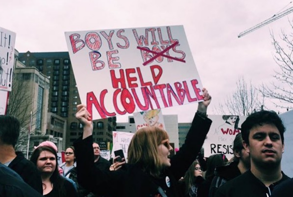 Dear Men, It's Up To YOU To Change The Narrative of Sexual Assault