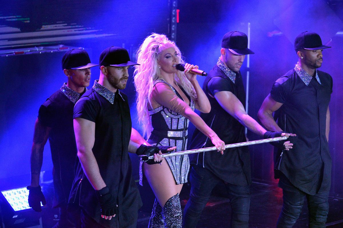 Erika Jayne Gave a Pop Extravaganza to Stay-at-Home Moms Everywhere