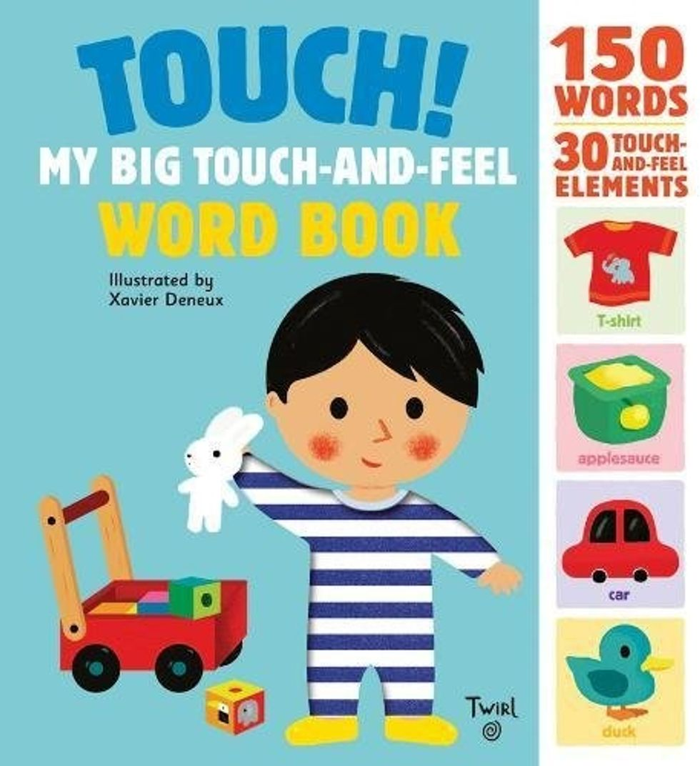 touch and feel kids book
