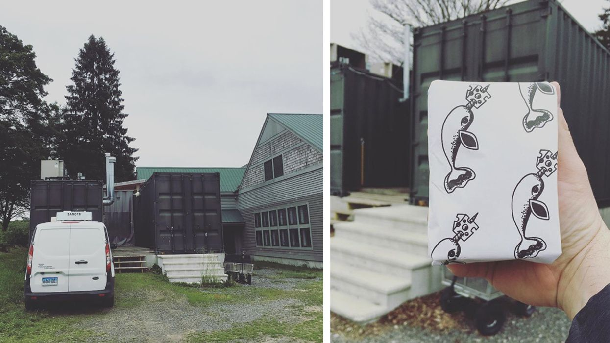 Mystic Cheese: Modular Shipping Containers Are Being Repurposed for Food Production