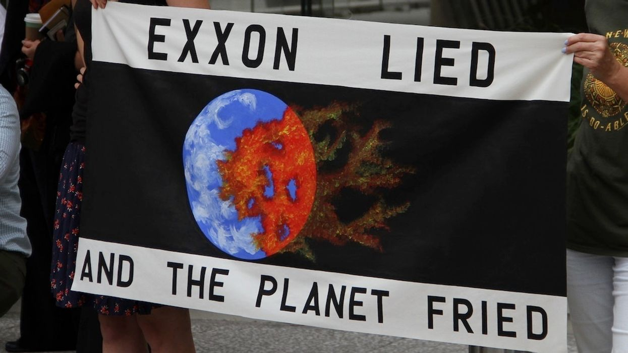 New York Sues Exxon for Deceiving Investors on Climate Change