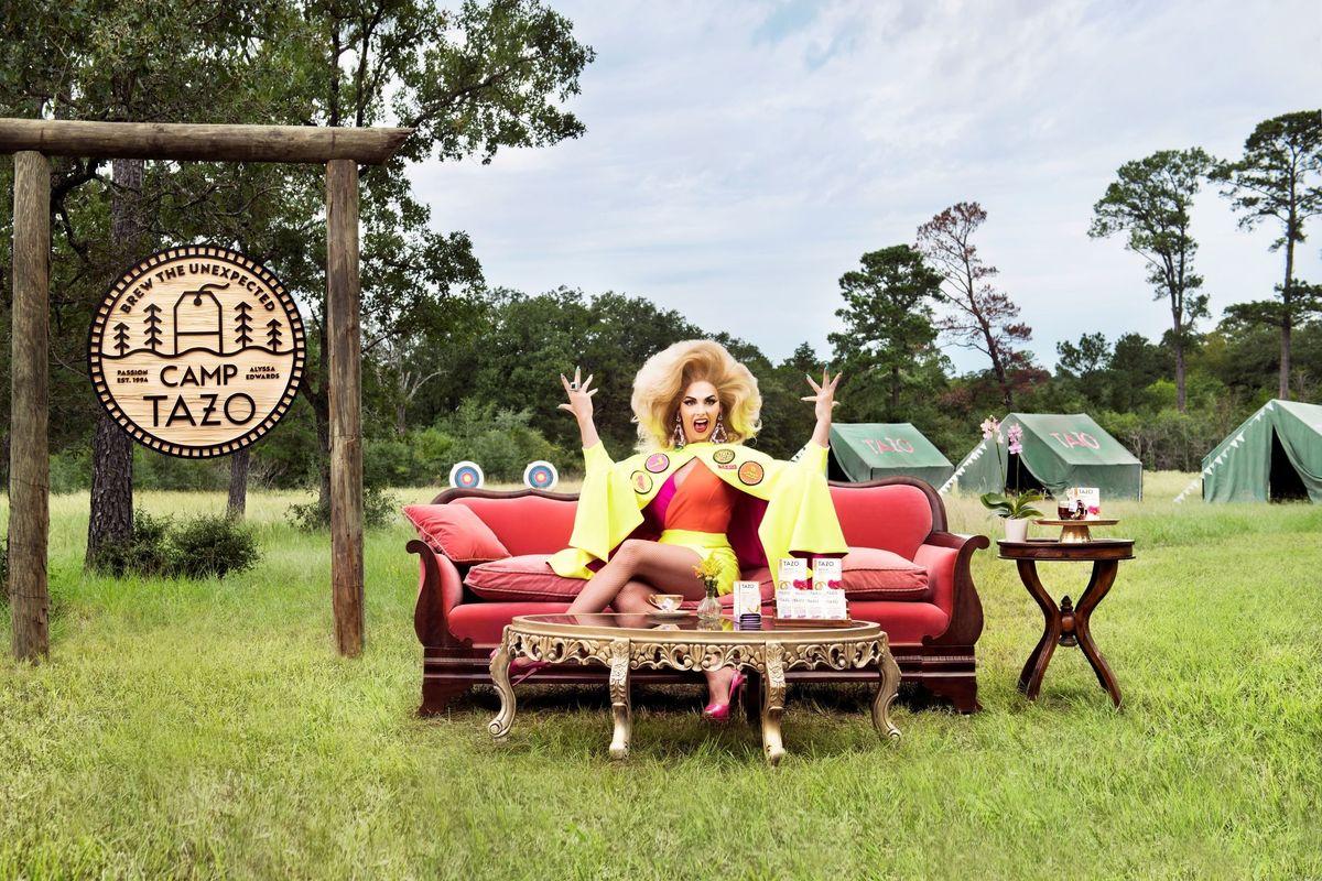 Alyssa Edwards Spills the Tea on Camp TAZO