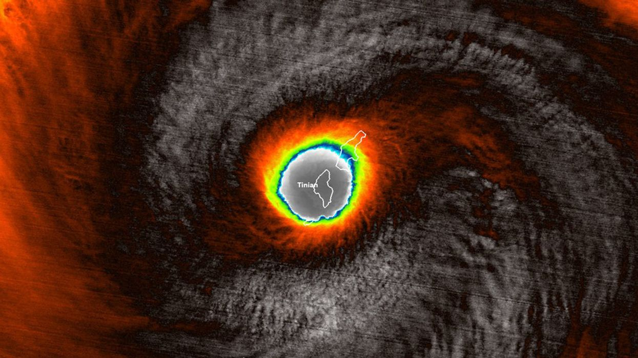 Super Typhoon Yutu Slams U.S. Pacific Territories With Category 5 Strength