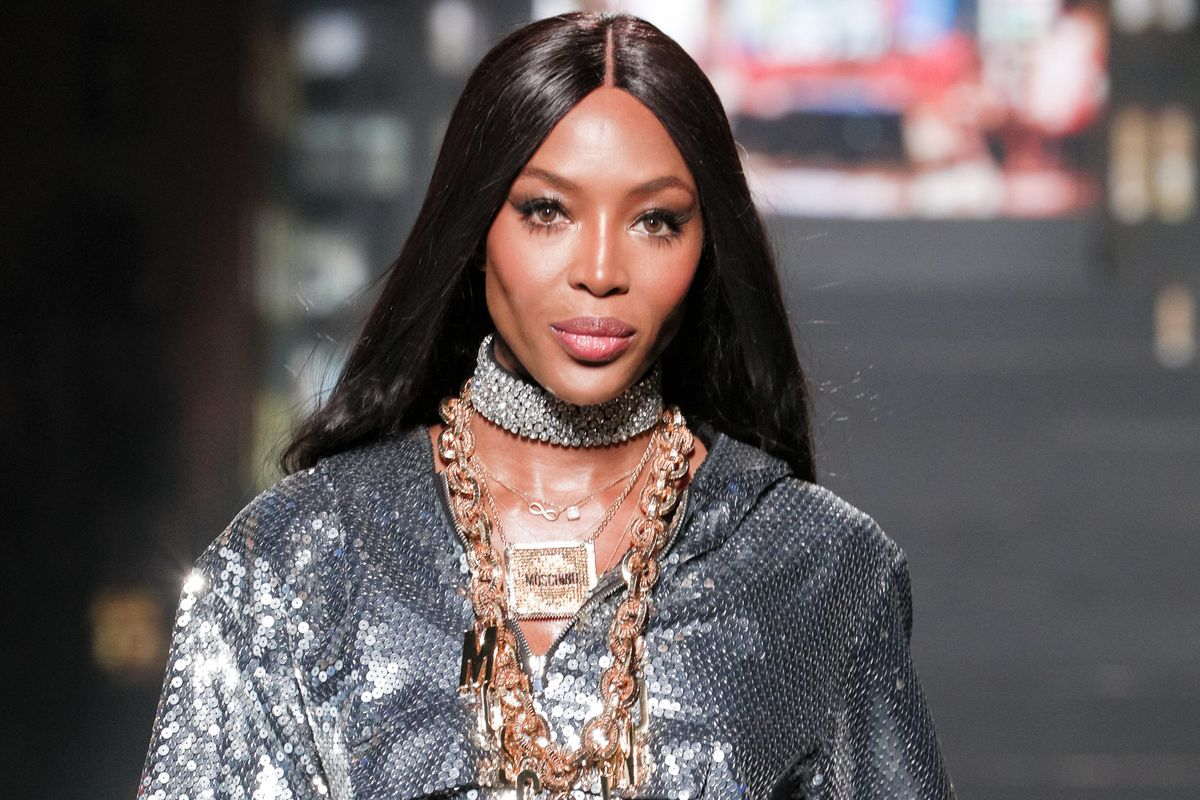 Naomi Campbell Closes Out the Moschino x H&M Show