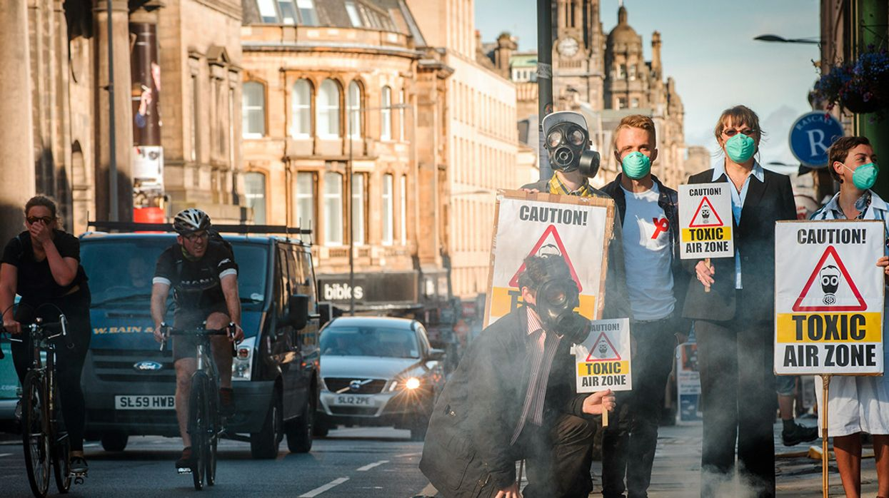 Polluted Air Sends Up to 33 Million People to the ER Each Year