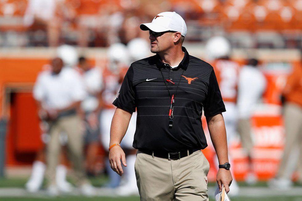 University of Texas football coach Tom Herman