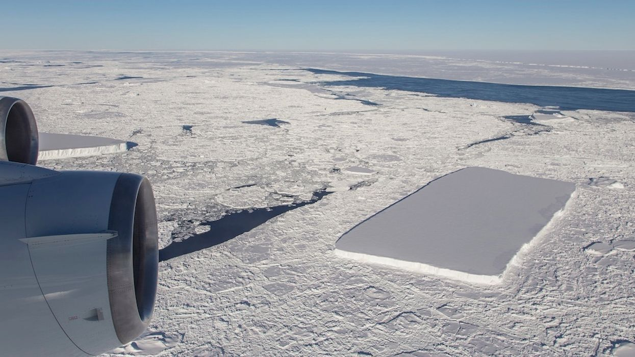 NASA Flew Over Not One But Two Rectangular Icebergs