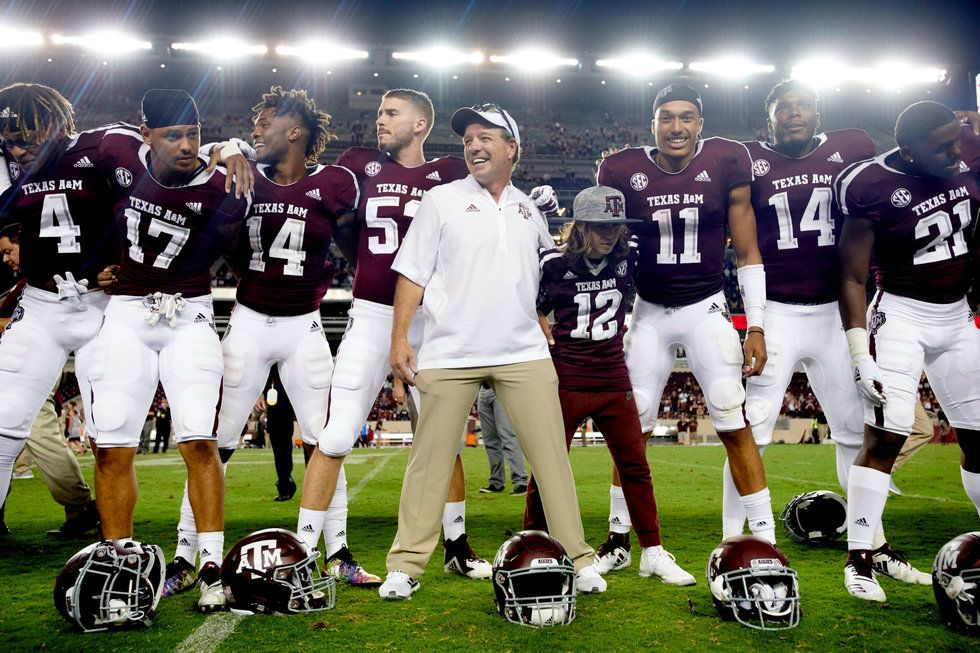 Jimbo Fisher and the Aggies debuted with a win.