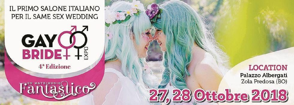 A Bologna va in scena la fiera degli sposi gay
