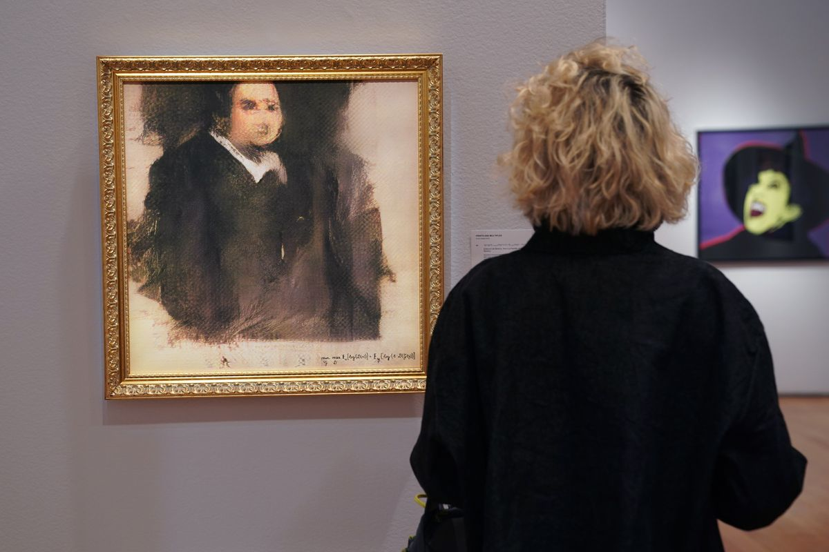 Someone Spent Half A Million On A Very Ugly AI-Generated Painting