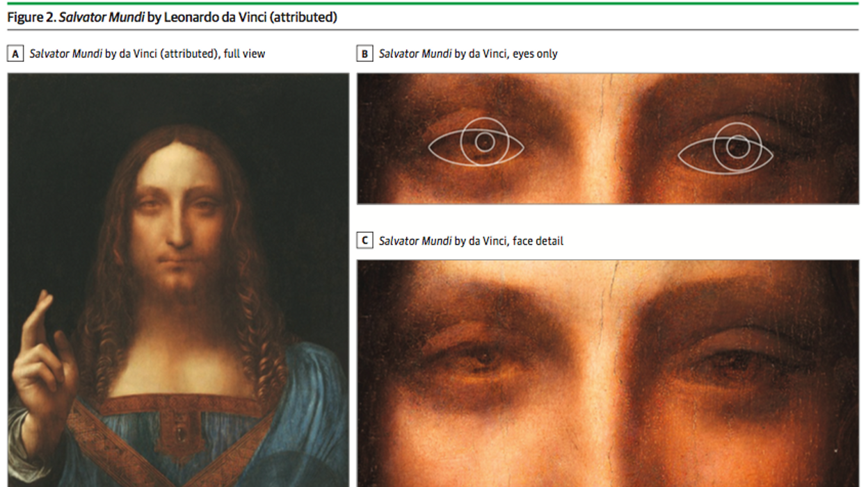 Leonardo da Vinci could visually flip between dimensions, neuroscientist claims