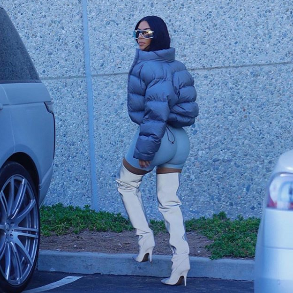 Kris Jenner Is Not a Fan of Kim's Bike Shorts