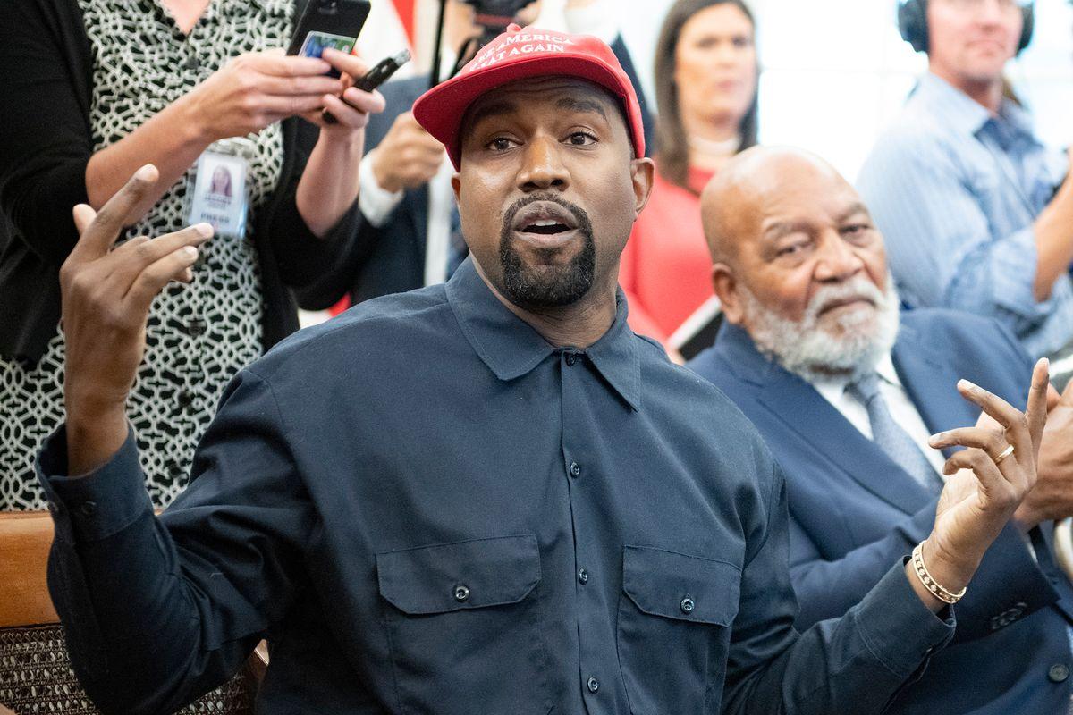 Kanye West Reportedly Designed 'Blexit' Shirts