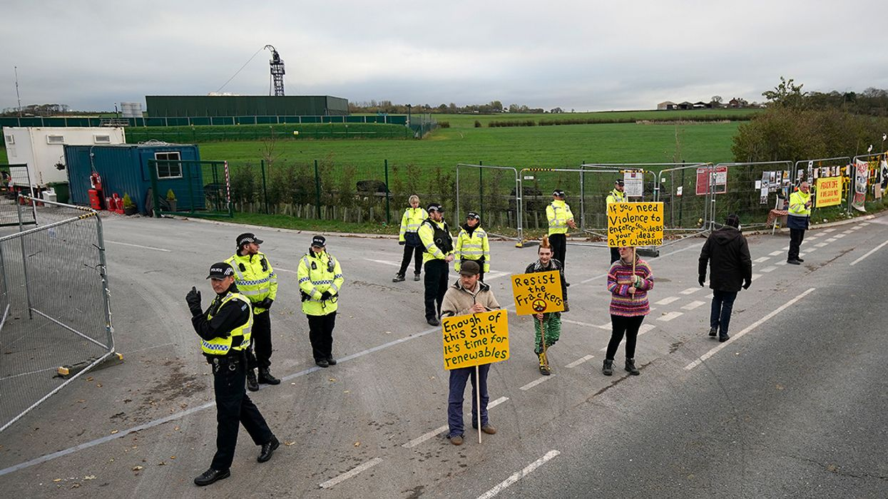 First 'Red' Level Tremor at UK Fracking Site Put Legal Pause on Operations