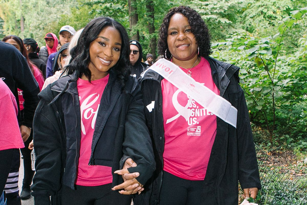 Normani and Her Mom on Their Family's Experience With Cancer