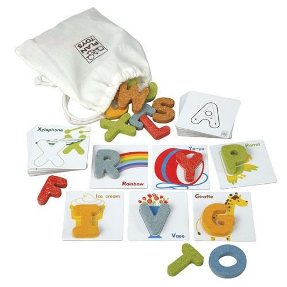 PlanToys Preschool Alphabet A-Z