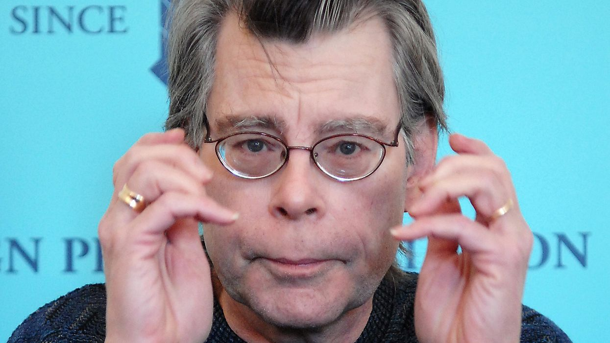 "Stephen King says writers should stop using this one ""very tired"" word"