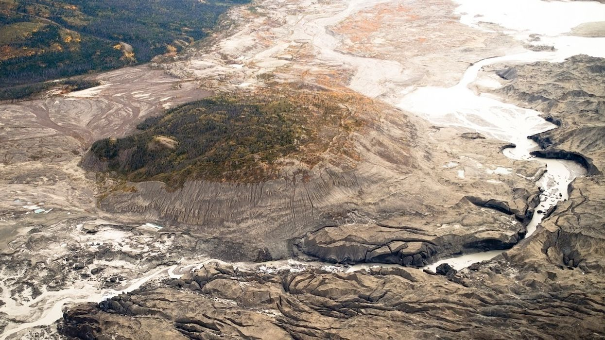 Melting Glaciers Dramatically Alter Canada's Yukon