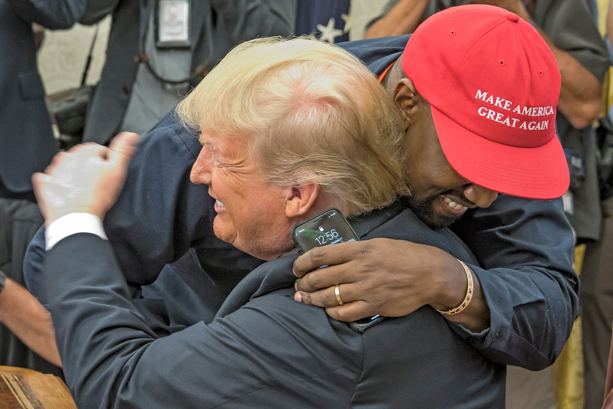 Kanye West Distances Himself From Trump