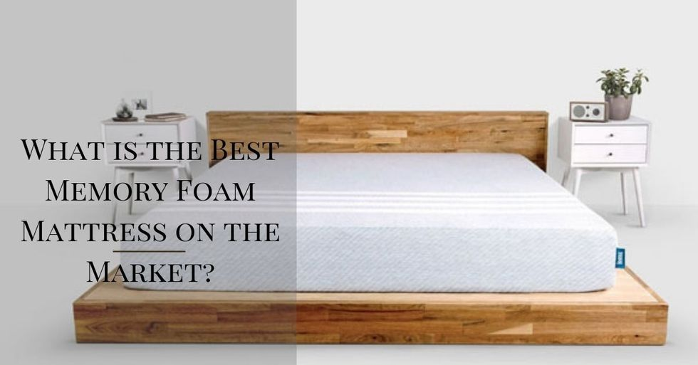 What is the Best Memory Foam Mattress on the Market?
