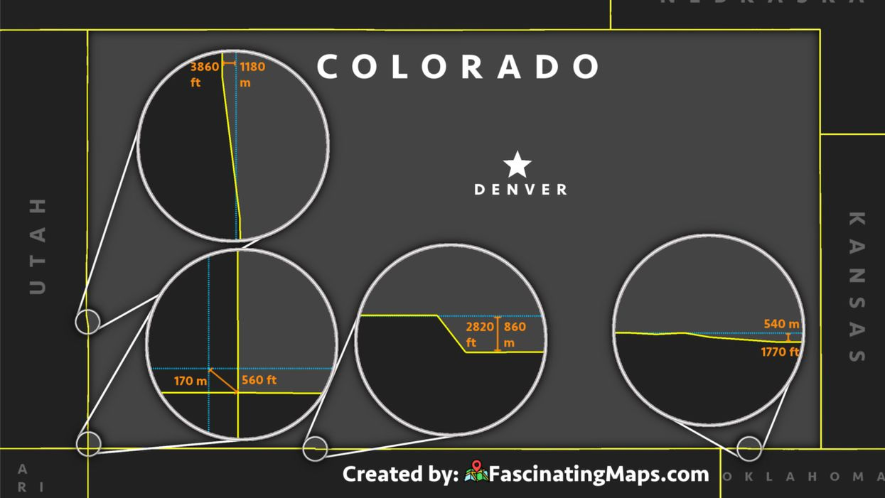 Colorado is a rectangle? Think again.