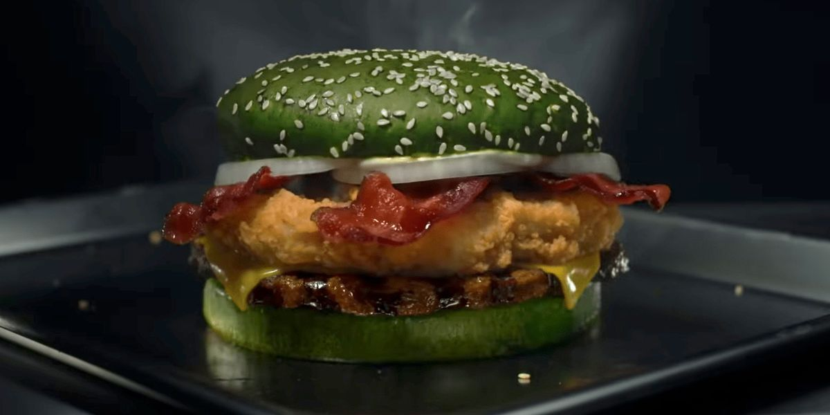 Burger King's nightmare burger won't give you scary dreams