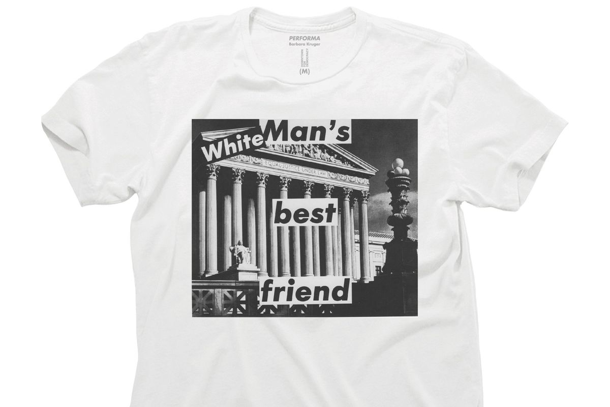 Barbara Kruger's Bold New T-Shirt Is Here