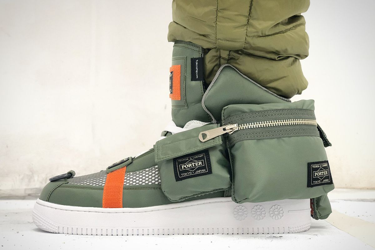 You've Heard of Cargo Pants, Now Get Ready For Cargo Sneakers