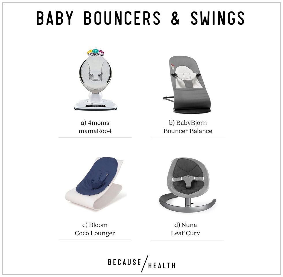 Non-Toxic Baby Bouncers and Swings