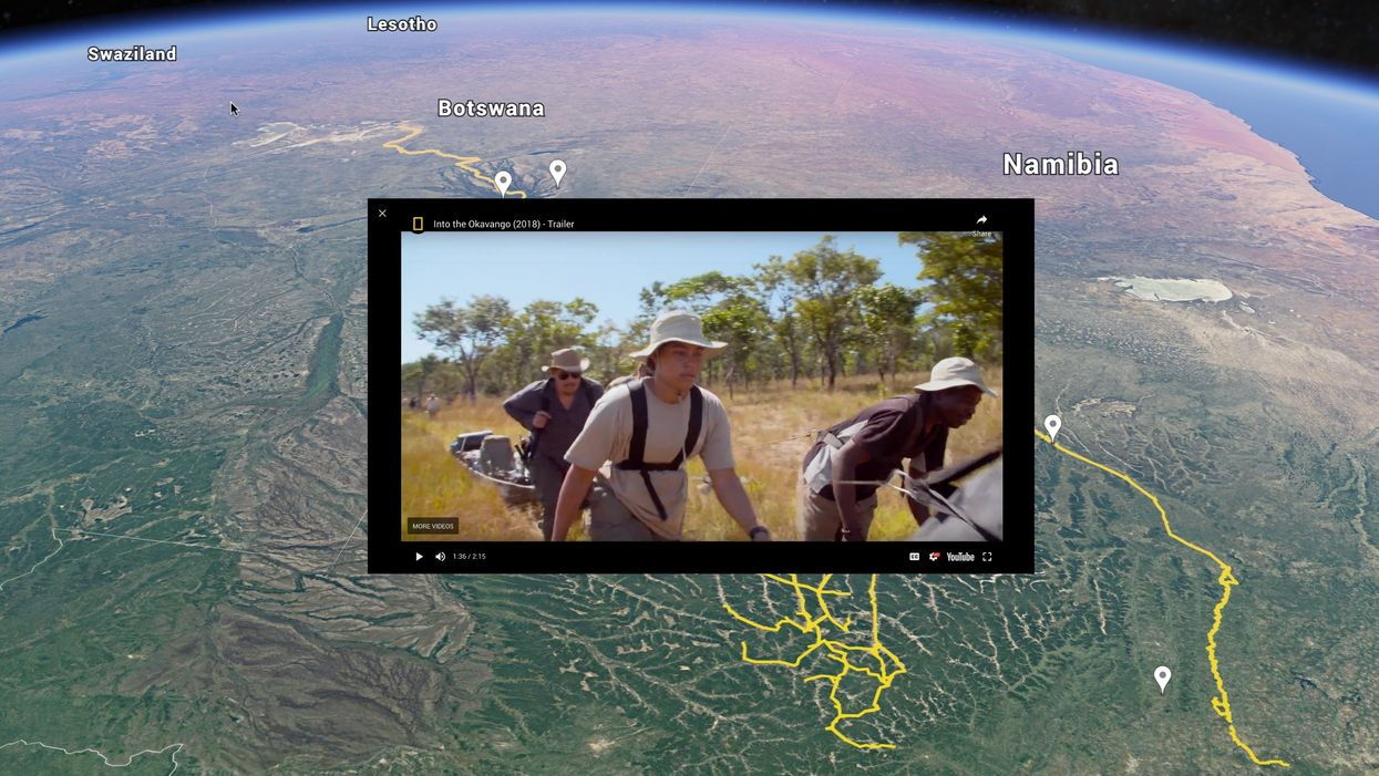 Google and NatGeo team up to combat climate change