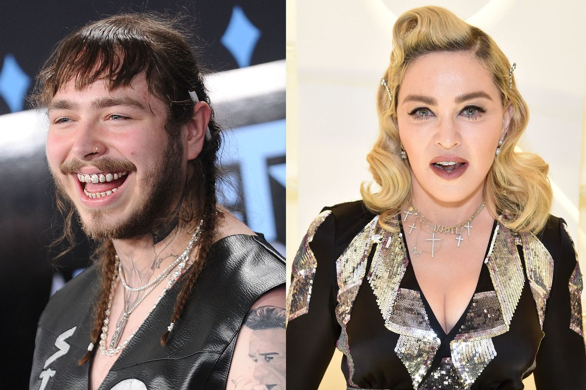 Madonna Loves Post Malone's Crocs Collab
