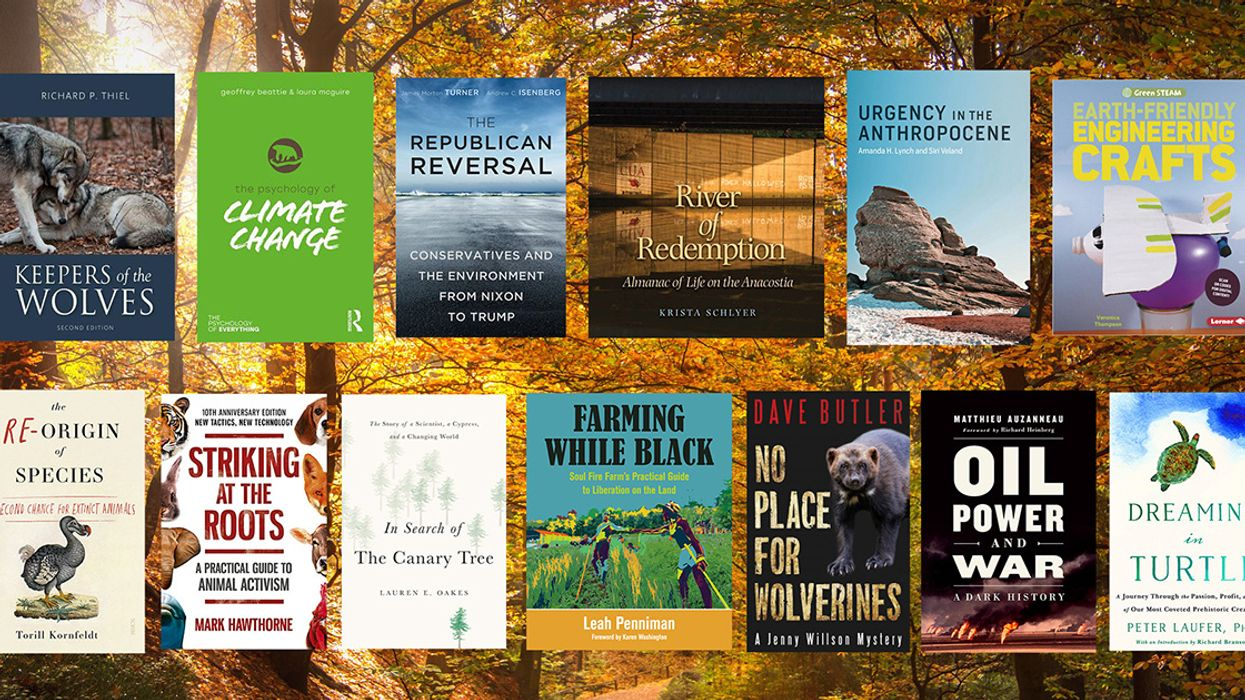 Our Votes for the Best New Environmental Books of November