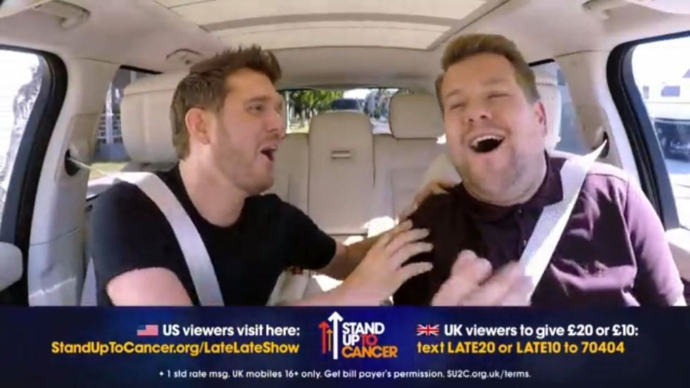 Michael Bublé's Carpool KaraokeShows That Vulnerability Can Be One's Greatest Asset