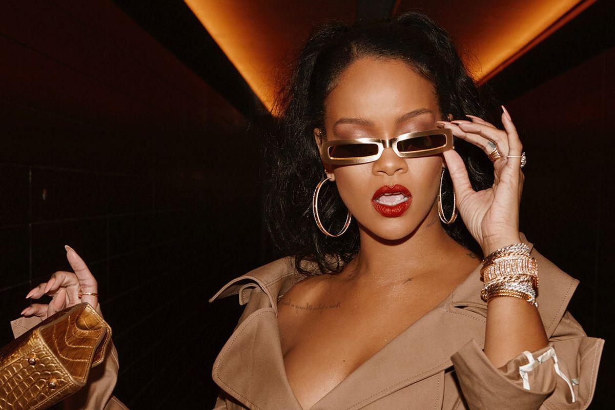 Rihanna Calls Trump Rallies 'Tragic'